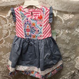 NWT sz 24 mths Bonnie Jean dress
